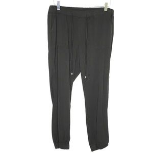 Old Navy Black Cropped Jogger Pants A060523
